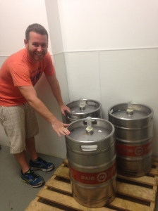 The Man Child to the fermenting beer,